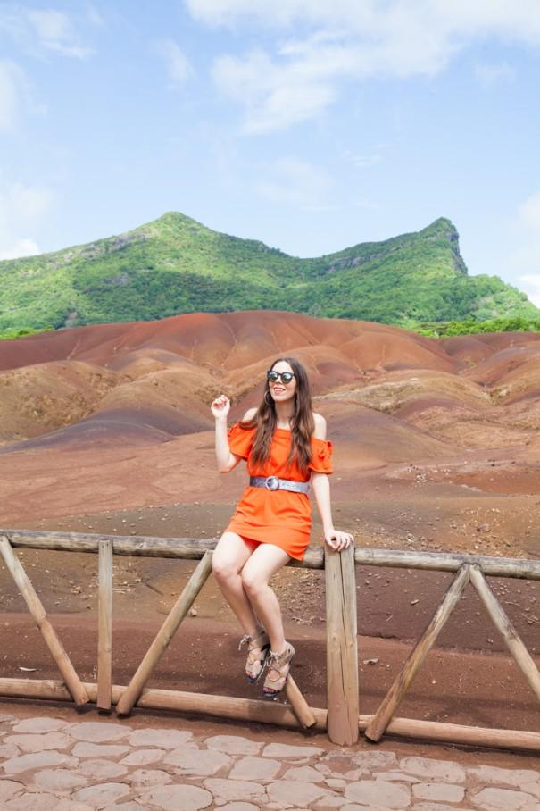 mauritius chamarel area terre rosse