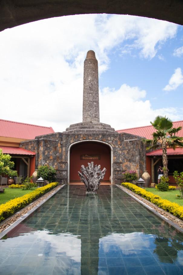 mauritius chamarel fabbrica di rum