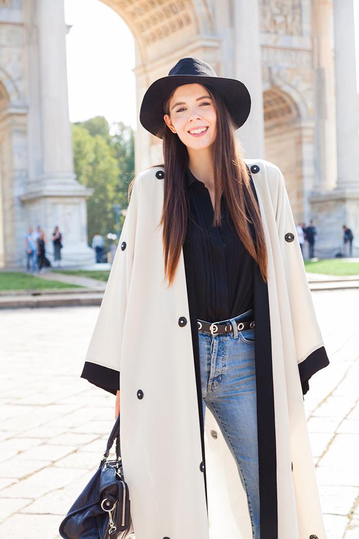 outfit arabo con abaya