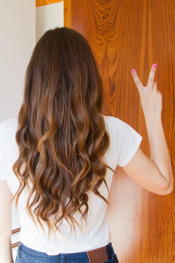 come fare i capelli mossi in 5 minuti