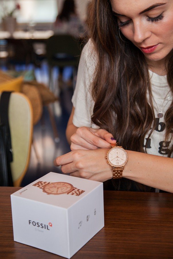 smartswatch fossil irene colzi fashion influencer