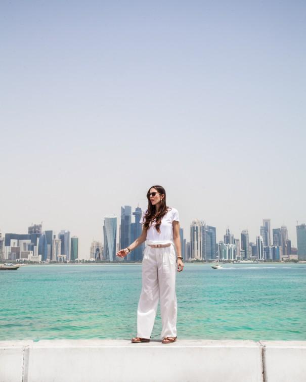 viaggio in qatar doha Corniche