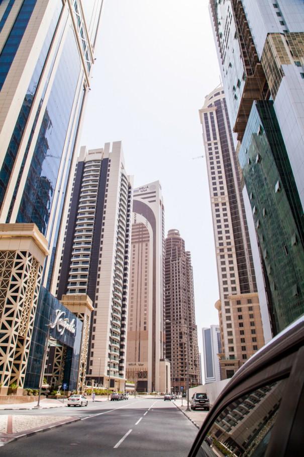 viaggio in qatar doha grattacieli