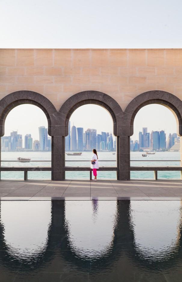 viaggio in qatar doha panorama dal MIA