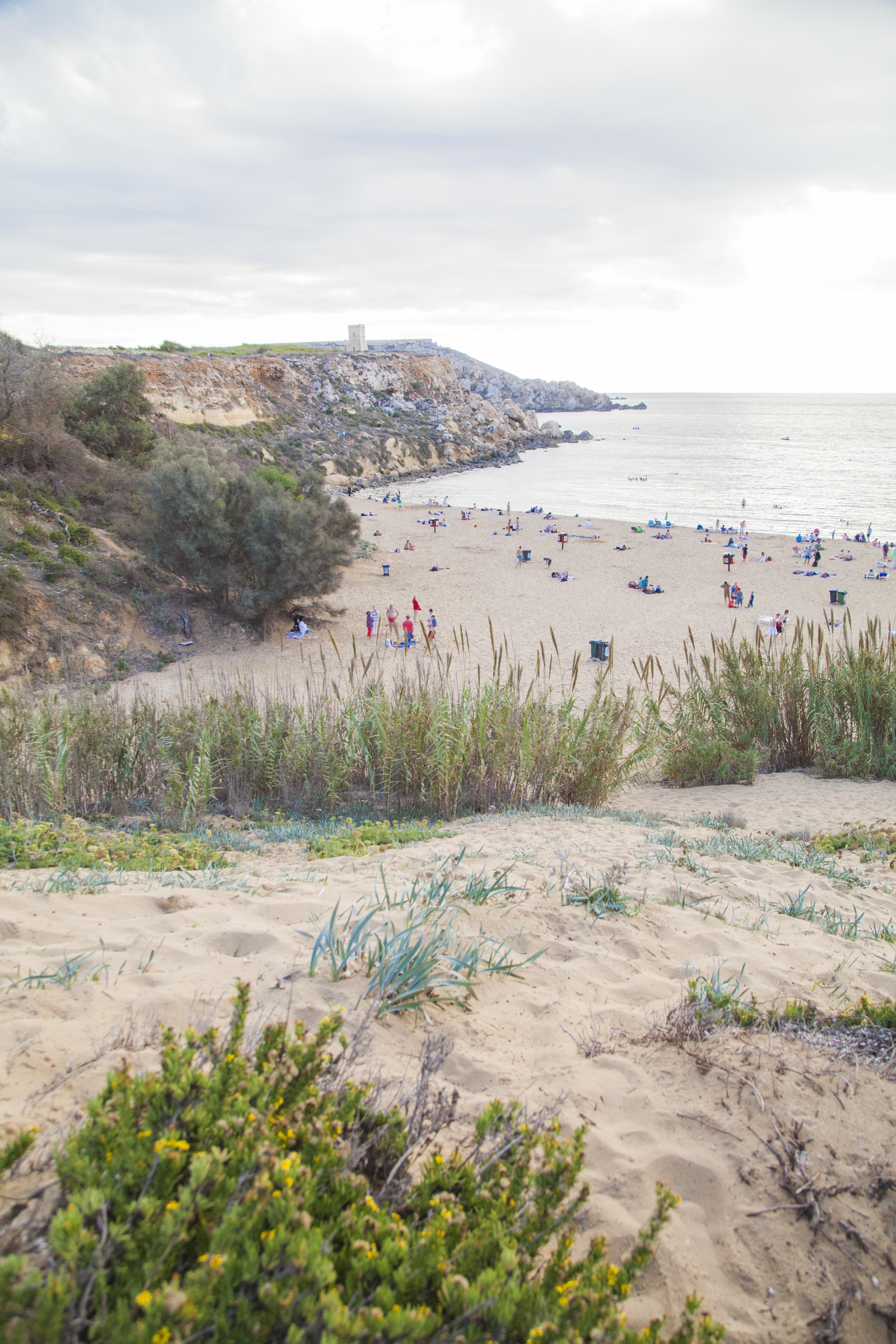 spiagge di malta, spiaggia a malta, malta spiagge