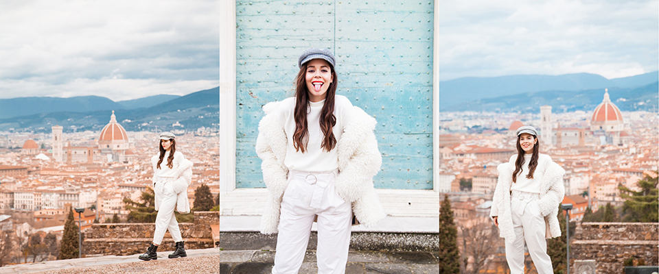 outfit total white irene colzi