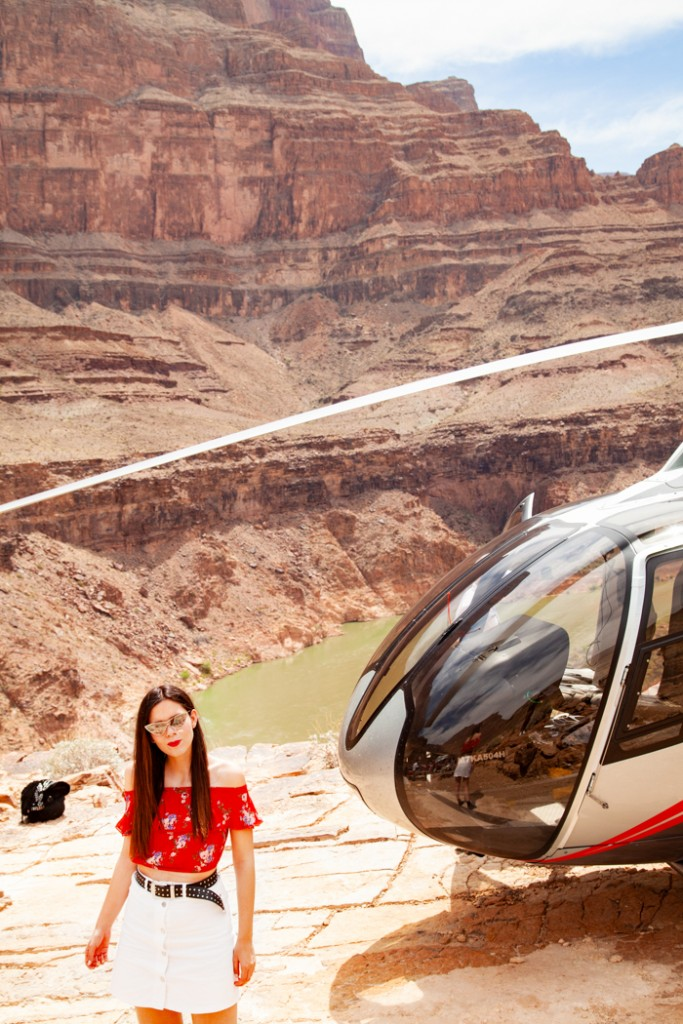 giro in elicottero nel grand canyon