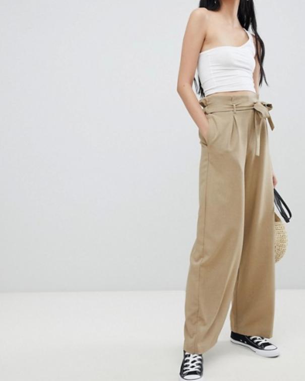 pantaloni oversize