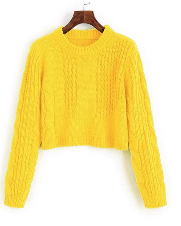 tendenza colore giallo