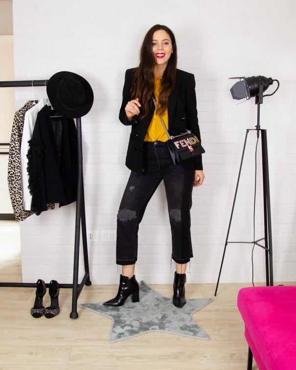 5fb97921a456db Come indossare il blazer: 5 abbinamenti TOP con una giacca nera