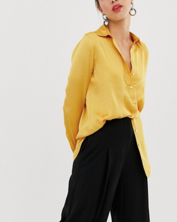 giallo camicia gialla