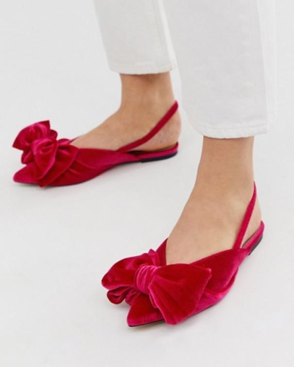 Crea un look elegante scarpe basse velluto