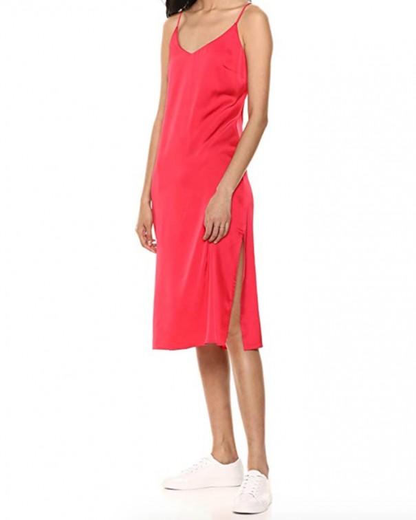 abito sottoveste rosso