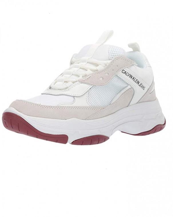 sneakers chunky beige