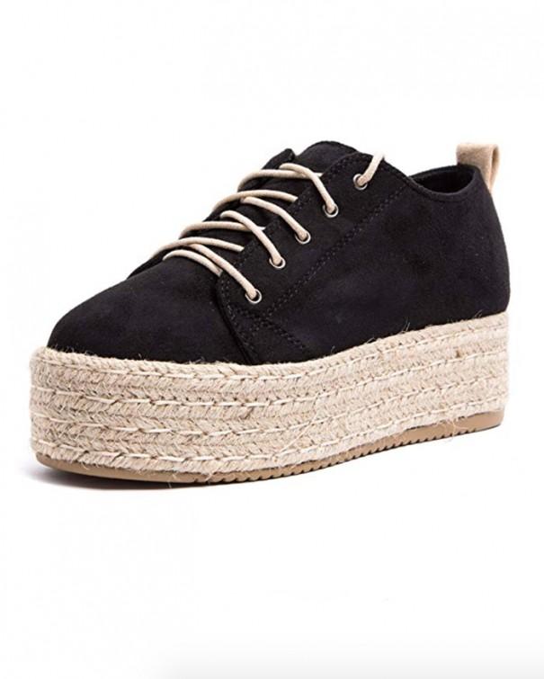 sneakers espadrillas scarpe nere