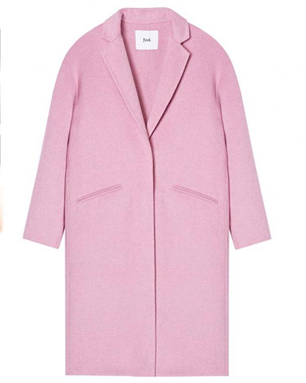 cappotto coloratissimo rosa