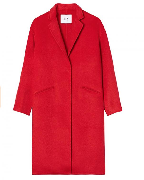 cappotto coloratissimo rosso