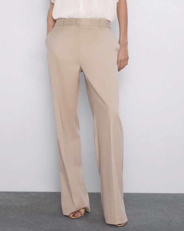 pantaloni palazzo chiari