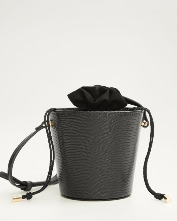 borsa secchiello nera