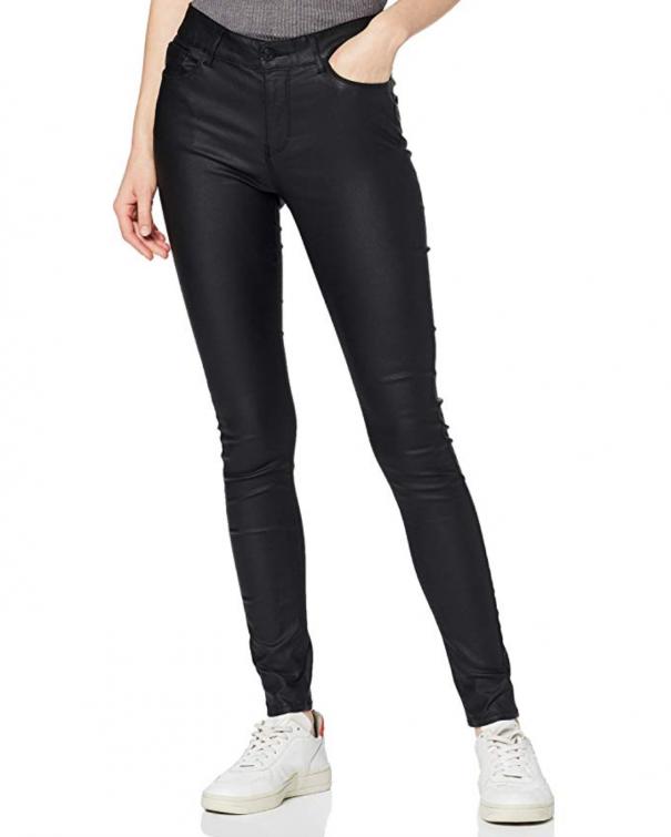 pantaloni di pelle skinny