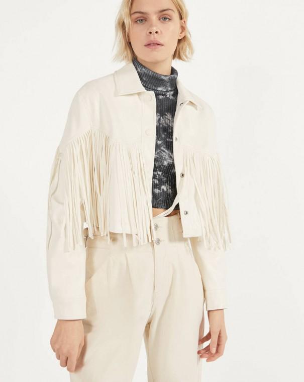 frange giacca