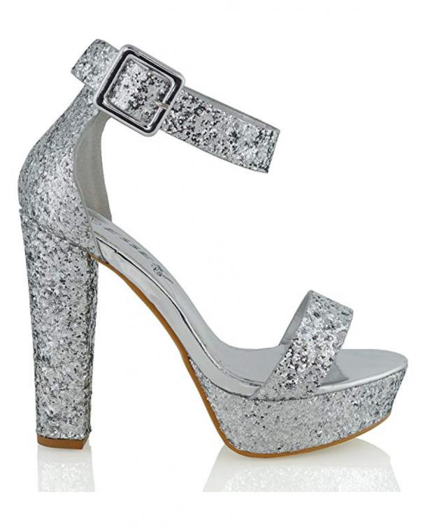 glitter sandali