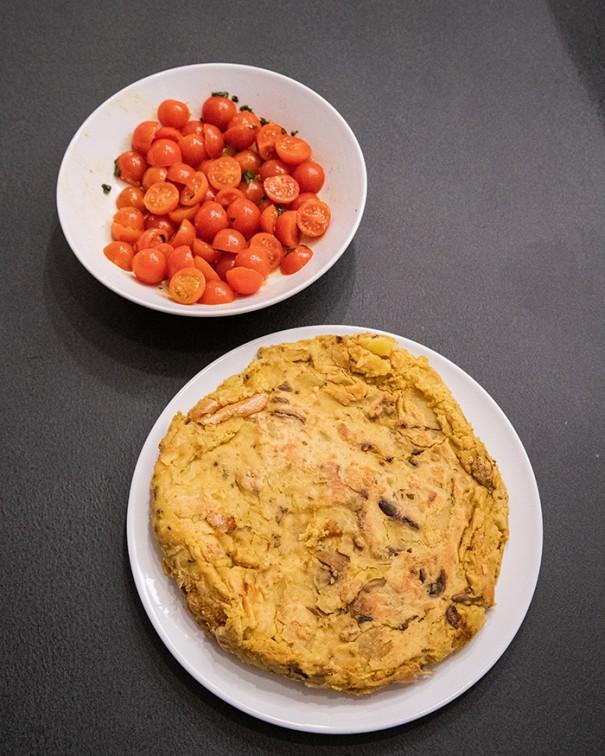 ricetta frittata di farina di ceci senza uova